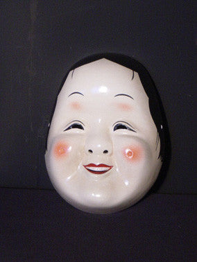 Omen (Japanese Mask) Okame FLK07 - Taiko Center Online Shop