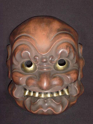 Kyogenmen (Kyogen Mask) Onibuaku KYG02-5 - Taiko Center Online Shop