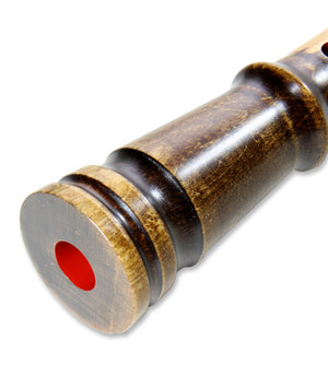Maple Shakuhachi (w/ Node) (Straight End) (Kinko) (2.2 & 2.3 shaku) - Taiko Center Online Shop