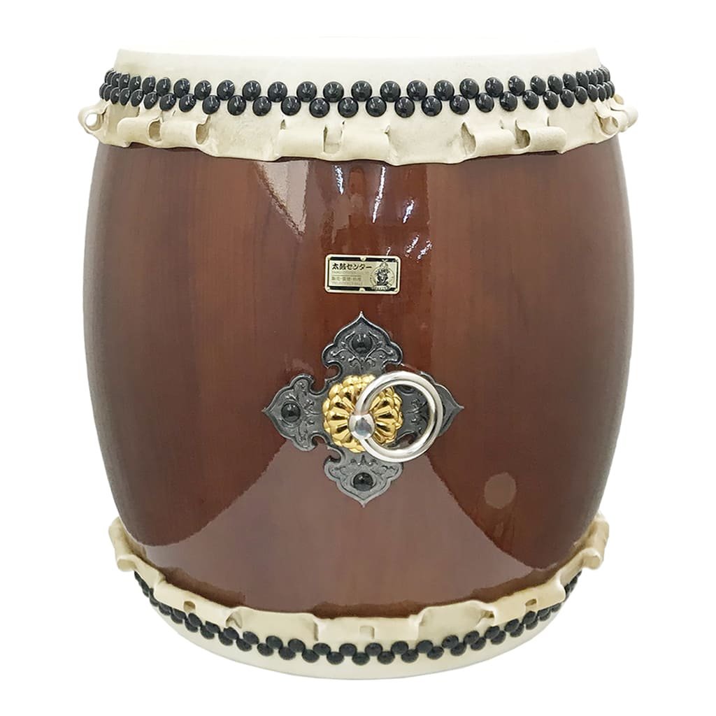 Nagado Daiko Smile Brown (Luxurious Plate & Stainless Handle) (1.5 shaku) (Display Model)