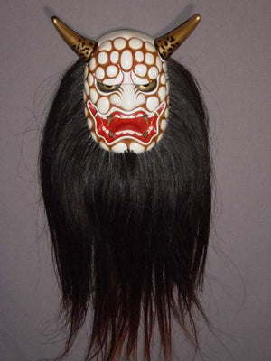 Kyodomen (Japanese Regional Mask) Suzukaoni SP09 - Taiko Center Online Shop