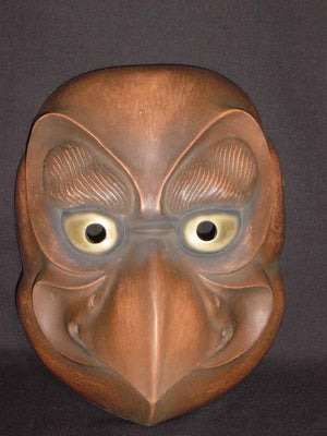 Kyogenmen (Kyogen Mask) Tobi KYG12 - Taiko Center Online Shop