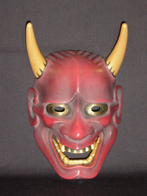Omen (Japanese Mask) Tsuzumihannya SP08 for Wadaiko - Taiko Center Online Shop