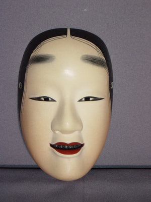 Nohmen (Noh Mask) Wakaonna NOH03-2 - Taiko Center Online Shop