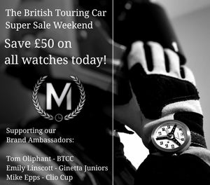 48 Hour British Touring Car Watch Sale Is Back And Now Running!