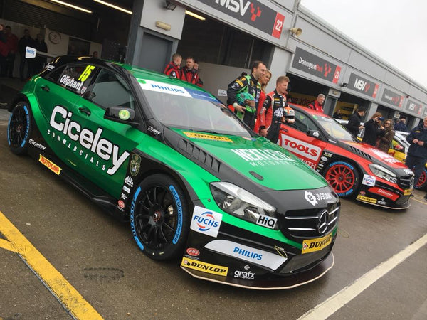 MARCHAND PARTNERS WITH TOM OLIPHANT FOR HIS BRITISH TOURING CAR CAMPAIGN