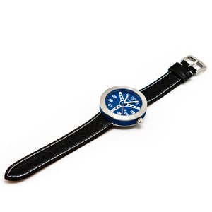 BLUE WITH BLACK STRAP DEBONAIR