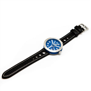 BLUE WITH BLACK STRAP DEBONAIR (WAS £275)