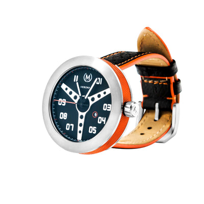 BLACK AND ORANGE DEBONAIR (LIMITED EDITION) - Marchand Watch Company