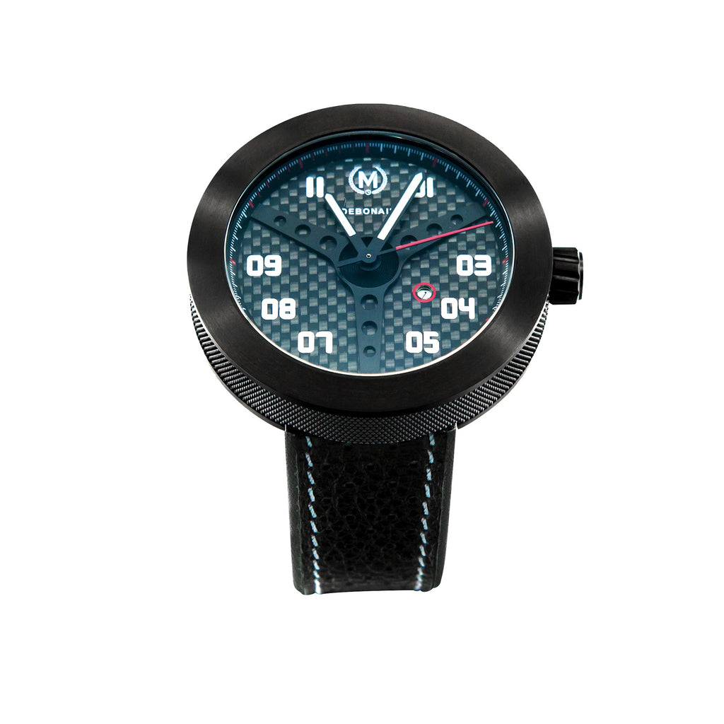 CARBON FIBRE DEBONAIR (LIMITED EDITION) - Marchand Watch Company
