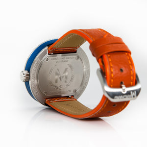 BLUE WITH ORANGE STRAP DEBONAIR (WAS £275)