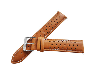 TAN LEATHER RALLY WATCH STRAP