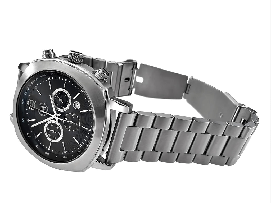GRANDSPORT CHRONOGRAPH, METAL STRAP (COMING SOON) - Marchand Watch Company