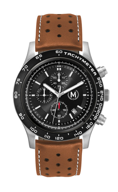 ESSES GT CHRONOGRAPH, TAN STRAP (PRE ORDER, EARLY DECEMBER ARRIVAL)