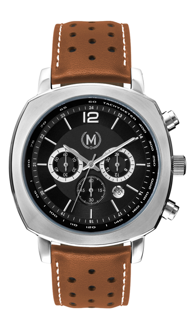 SUPERSPORT CHRONOGRAPH, TAN STRAP (COMING SOON) - Marchand Watch Company