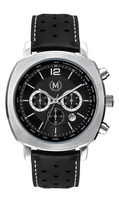 GRANDSPORT CHRONOGRAPH, BLACK STRAP (COMING SOON) - Marchand Watch Company