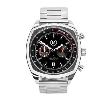 CLASSIC DRIVER CHRONO, METAL STRAP - Marchand Watch Company