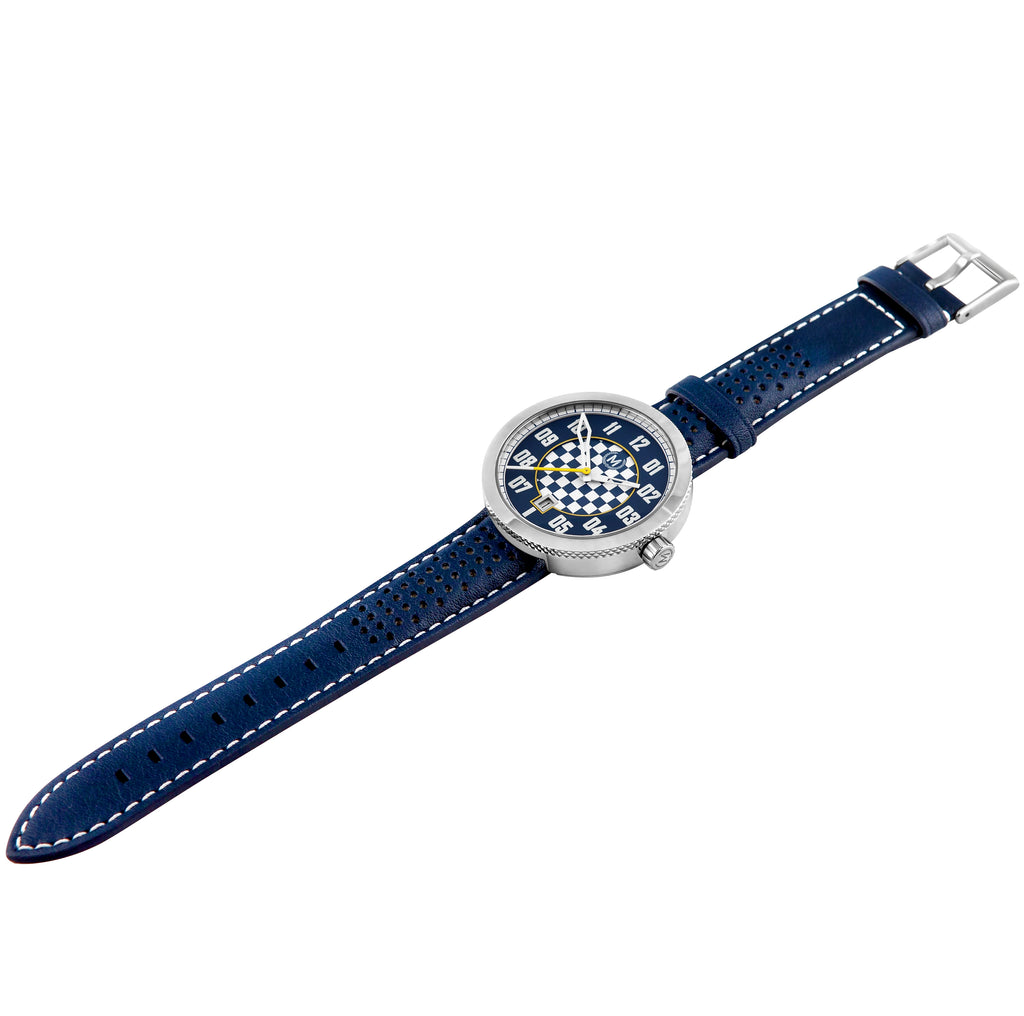 BLUE AND WHITE AUTOMATIC LEGACY (LIMITED EDITION) - Marchand Watch Company