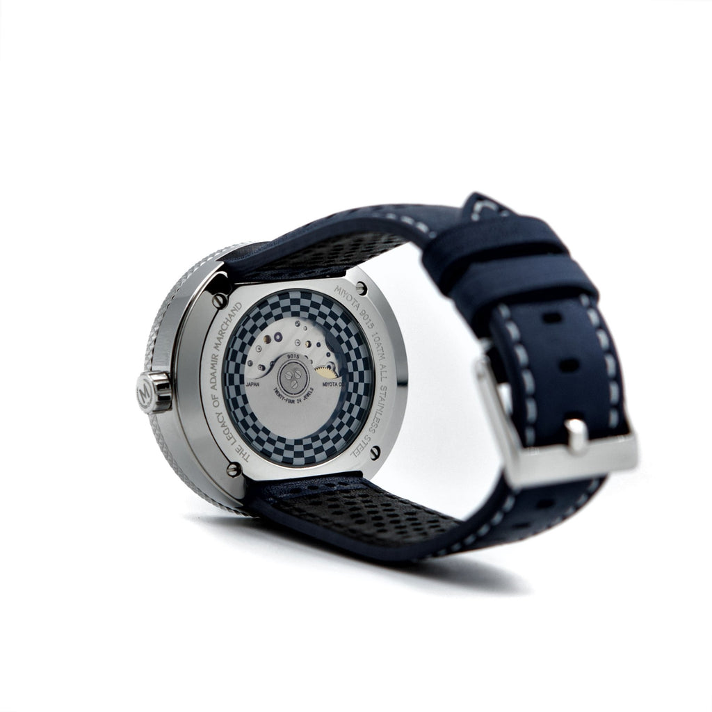 BLUE AND WHITE AUTOMATIC LEGACY (20% OFF WITH CODE 'FATHER') - Marchand Watch Company