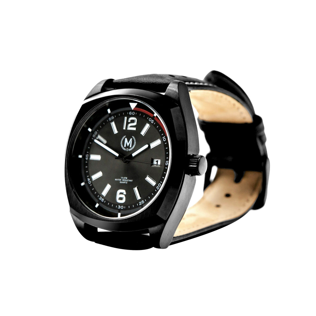 BLACK DRIVER - Marchand Watch Company