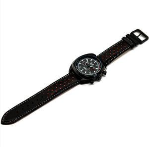 BLACK AND RED LMP CHRONO