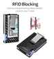 CARBON FIBRE RFID BLOCKING CARD HOLDER WALLET FOR MEN - Marchand Watch Company