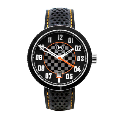 BLACK AND ORANGE AUTOMATIC LEGACY (WAS £349) - Marchand Watch Company