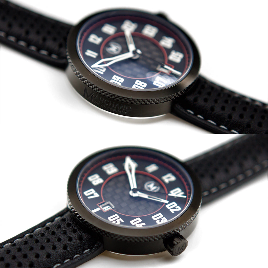 CARBON AND BLACK AUTOMATIC LEGACY - Marchand Watch Company