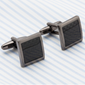CARBON FIBRE SQAURE MEN'S CUFF LINKS - Marchand Watch Company