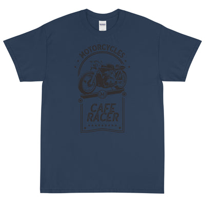 CAFE RACER SHORT SLEEVE T-SHIRT, BLUE