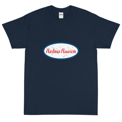 RETRO RACER SHORT SLEEVE T-SHIRT, NAVY