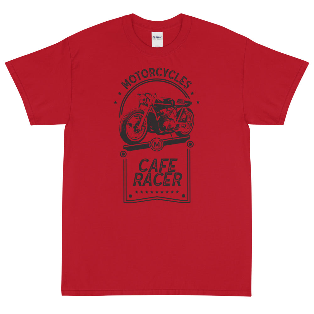 CAFE RACER SHORT SLEEVE T-SHIRT, RED