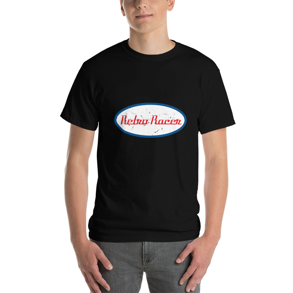 RETRO RACER SHORT SLEEVE T-SHIRT, BLACK
