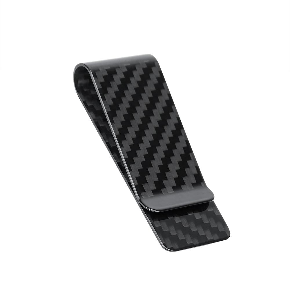 MONOCARBON CARBON FIBRE MONEY CLIP CLAMP FOR MONEY - Marchand Watch Company