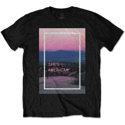 The 1975 She's American Men's T-Shirt - NME Merch