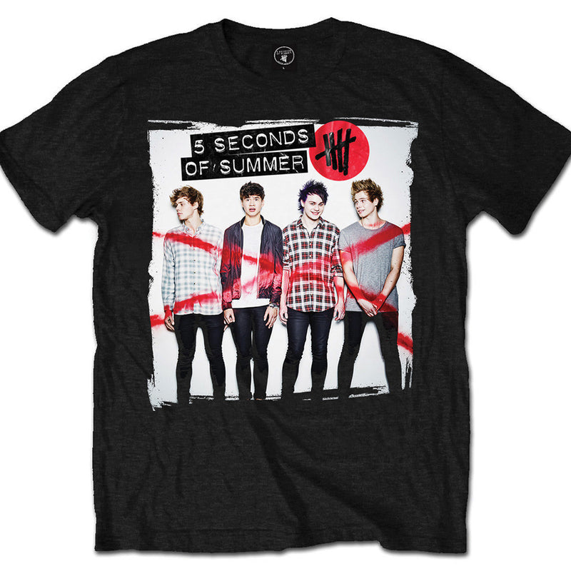 5 Seconds Of Summer Album Cover 1 Men's Tee - NME Merch
