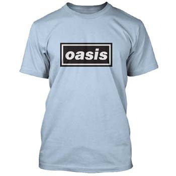 Oasis Definitely Maybe Blue T-Shirt