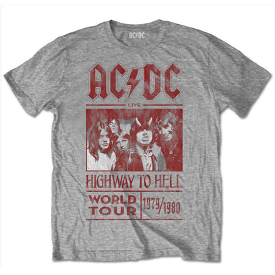 86da9bb2261 AC DC Special Edition Tours That Rocked The World  Highway to Hell World  Tour 1979 1980 Men s T-Shirt