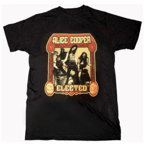 Alice Cooper Elected Men's Tee