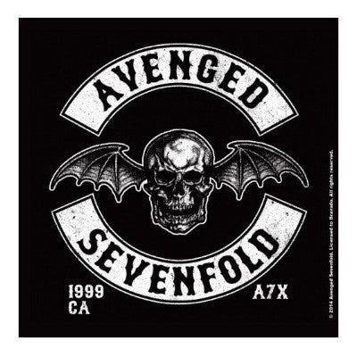 Avenged Sevenfold Death Bat Crest Coaster