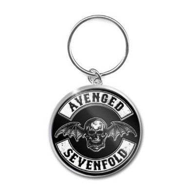 Avenged Sevenfold Death Bat Crest Key Ring - NME Merch