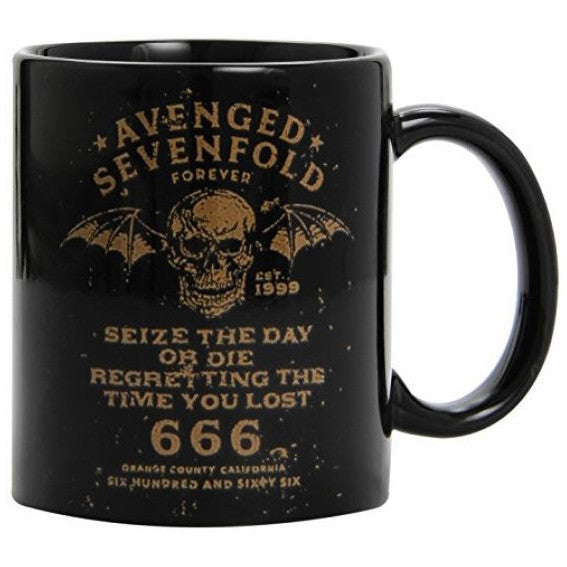 Avenged Sevenfold Seize The Day Boxed Mug