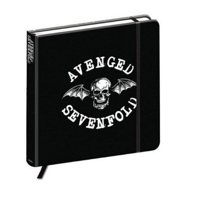 Avenged Sevenfold Death Bat Crest Notebook - NME Merch