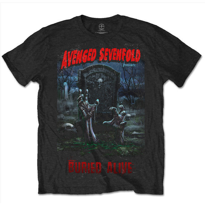 dcd092be713 Avenged Sevenfold Special Edition Tours That Rocked The World  Buried –  nmemerch