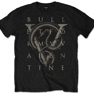 Bullet For My Valentine V For Venom Men's T-Shirt - NME Merch