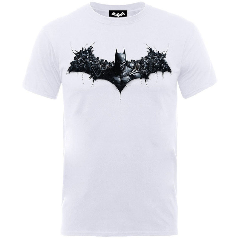 DC Batman Arkham Origins Shield Men's T-Shirt