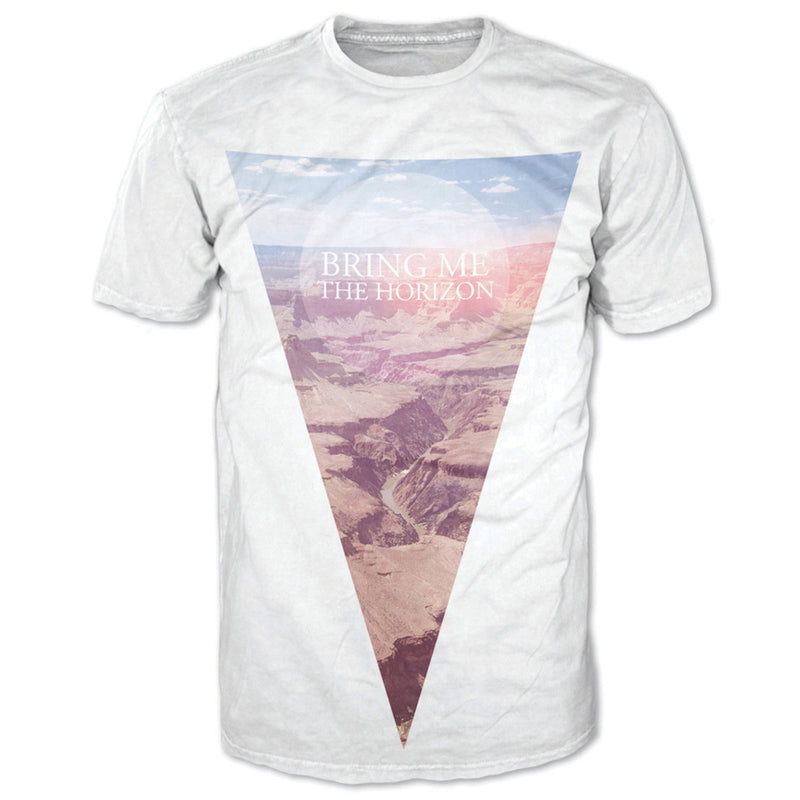 Bring Me The Horizon Canyon White Men's T-Shirt