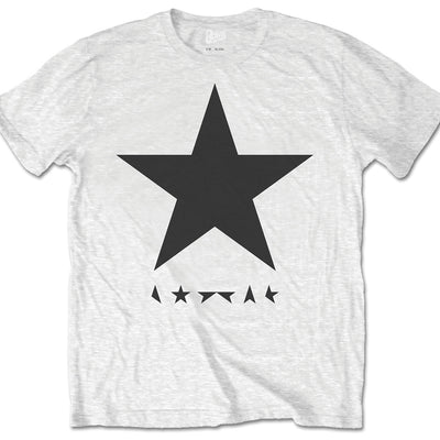 David Bowie Blackstar White Men's T-Shirt - NME Merch