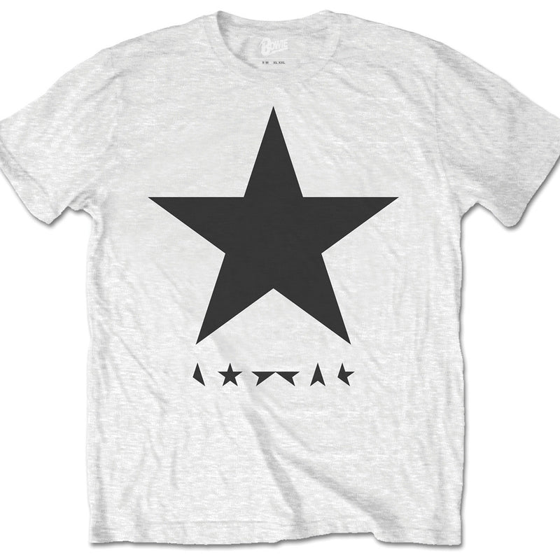 David Bowie Blackstar White Men's T-Shirt