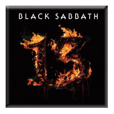 Black Sabbath 13 Fridge Magnet - NME Merch